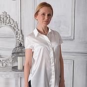 Одежда ручной работы. Ярмарка Мастеров - ручная работа Шелковая блуза. Handmade.