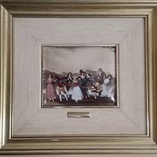 Картины и панно handmade. Livemaster - original item Pictures: A magnificent collection on enamel - paintings by Francisco Goya. Handmade.