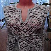 Одежда handmade. Livemaster - original item Fishnet beach tunic. Handmade.