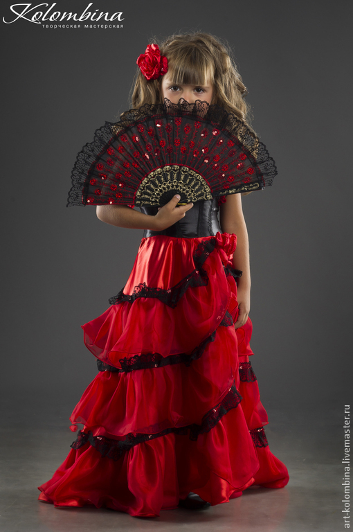 Испанка костюм своими руками