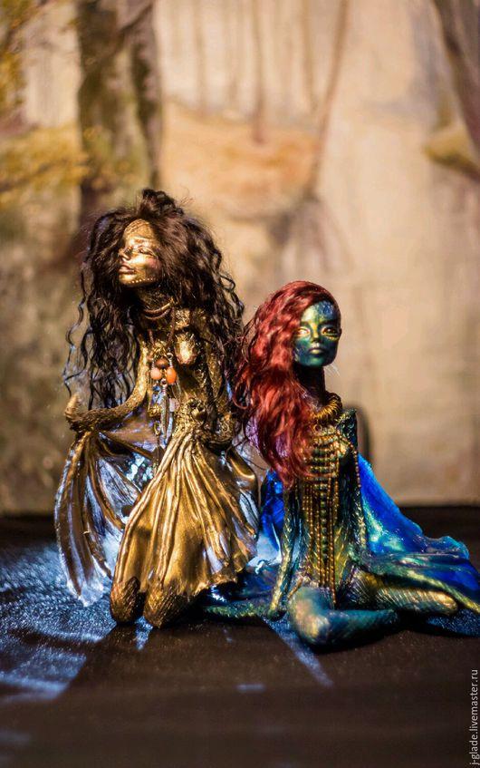 Коллекционные куклы ручной работы. Ярмарка Мастеров - ручная работа. Купить Коллекционная кукла. Handmade. Коллекционная кукла, хеллоуин
