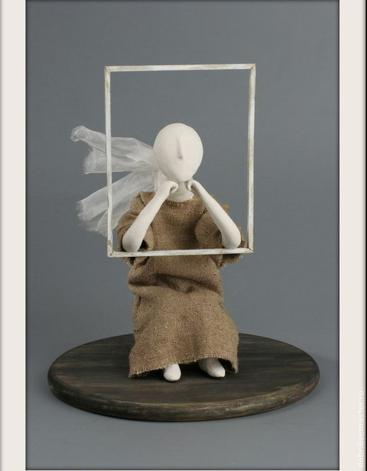 """Статуэтки ручной работы. Ярмарка Мастеров - ручная работа. Купить Статуэтка """"Окно"""". Handmade. Статуэтка, окно, дерево, смешанная техника"""