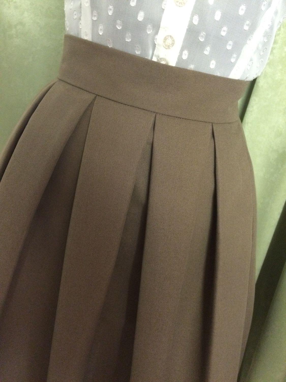 Сшить летнюю юбку в складку
