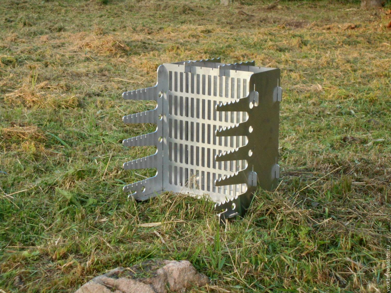 Вертикальный мангал для шашлыка с размерами своими руками