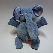 Куклы и игрушки handmade. Livemaster - original item Elephant Timosha. Handmade.
