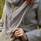 Аксессуары handmade. Livemaster - original item Knitted mohair shawl. Handmade.