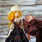 Игрушки ручной работы. Ярмарка Мастеров - ручная работа Игрушки: вдова и горбун. Handmade.