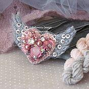 Украшения ручной работы. Ярмарка Мастеров - ручная работа Be My Valentine! in dusty rose. Handmade.