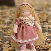 Куклы и игрушки ручной работы. Ярмарка Мастеров - ручная работа Вальдорфская кукла Софья, 35 см. Handmade.