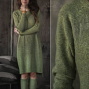 """Одежда ручной работы. Ярмарка Мастеров - ручная работа Платье """" Листья мяты"""". Handmade."""