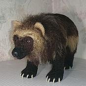 Куклы и игрушки handmade. Livemaster - original item Wolverine. Realistic figure of the spirit helper. Handmade.