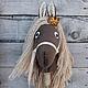 Игрушки животные, ручной работы. Ярмарка Мастеров - ручная работа. Купить Лошадка на палке. Handmade. Лошадка, лошадь, бамбук