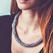Украшения handmade. Livemaster - original item Harness Silk. Handmade.