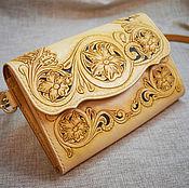 Сумки и аксессуары handmade. Livemaster - original item Women`s clutch bag shoulder. Handmade.