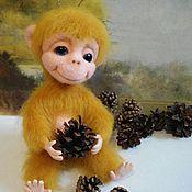 Куклы и игрушки ручной работы. Ярмарка Мастеров - ручная работа Обезьянка Чарли. Handmade.