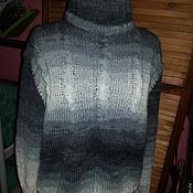 Одежда ручной работы. Ярмарка Мастеров - ручная работа Свитер в серых тонах. Handmade.
