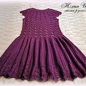 """Одежда ручной работы. Ярмарка Мастеров - ручная работа Платье крючком  """"Кайли"""". Handmade."""