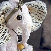 Куклы и игрушки ручной работы. Ярмарка Мастеров - ручная работа Тедди нежно-розовый слон. Handmade.