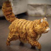 Куклы и игрушки handmade. Livemaster - original item Red cat Garfield in the style of Teddy nature. Handmade.