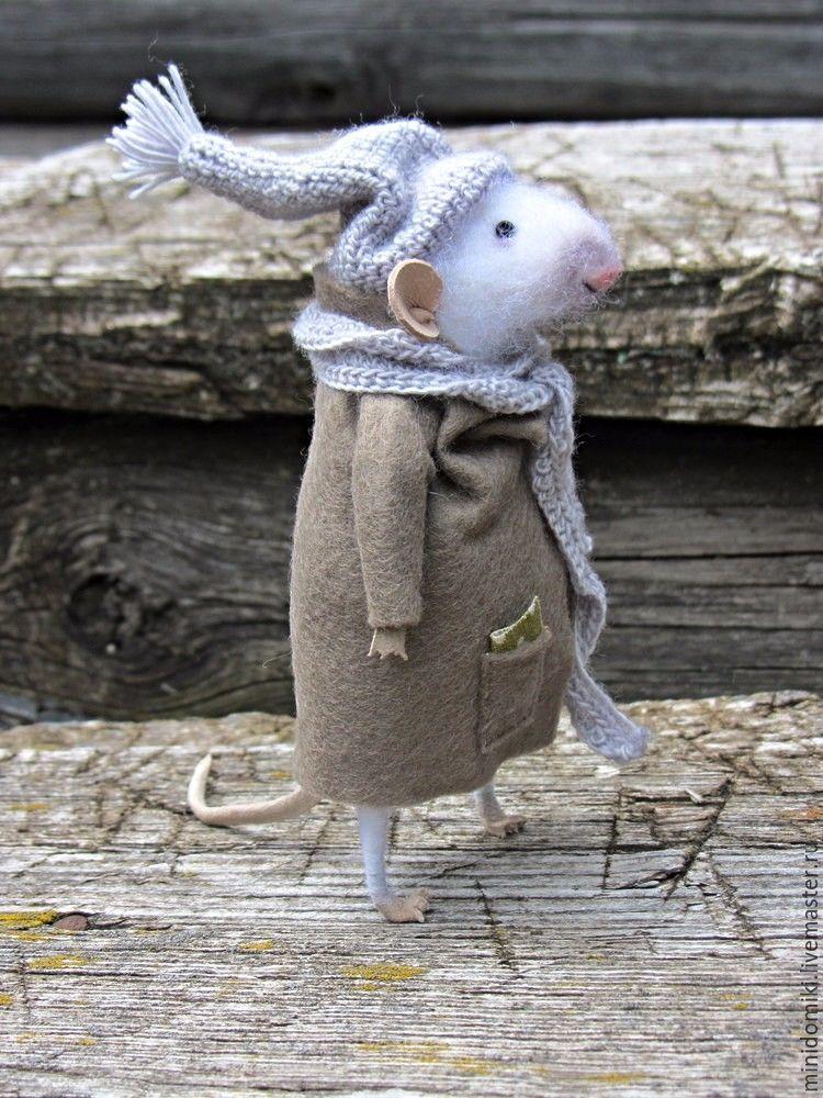 двор картинки с мышонком в пальто такие