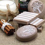 Косметика ручной работы handmade. Livemaster - original item Soap Set milk with cinnamon. Handmade.