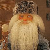 Куклы и игрушки ручной работы. Ярмарка Мастеров - ручная работа Кукла Дед Мороз. Handmade.