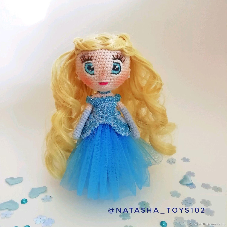 Вязаная кукла Золушка, Куклы и пупсы, Нефтекамск,  Фото №1