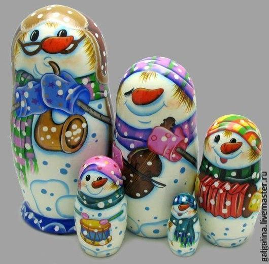 Сказочные персонажи ручной работы. Ярмарка Мастеров - ручная работа. Купить Снеговики. Handmade. Белый, снеговики, снеговички, новый год 2016
