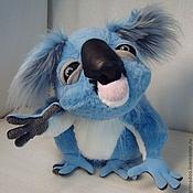 Куклы и игрушки ручной работы. Ярмарка Мастеров - ручная работа коала,мягкий,меховой,нежно-голубого цвета. Handmade.