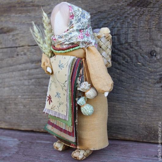 """Народные куклы ручной работы. Ярмарка Мастеров - ручная работа. Купить Куколка-жница русская народная """"Трудница"""". Handmade. Разноцветный"""