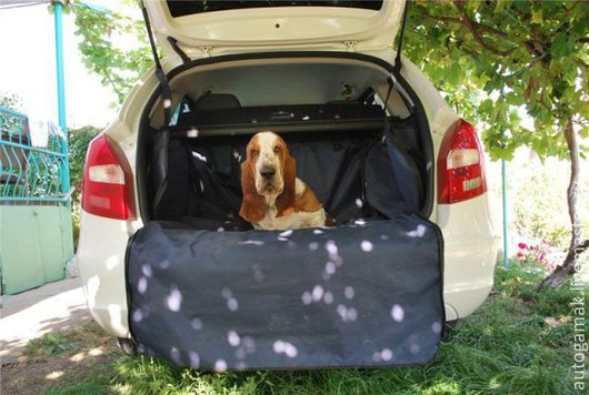 Аксессуары для собак, ручной работы. Ярмарка Мастеров - ручная работа. Купить Автогамак для первозки собак в автомобиле. Handmade. Разноцветный