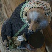 """Куклы и пупсы ручной работы. Ярмарка Мастеров - ручная работа """"Медвежья потеха"""". Handmade."""