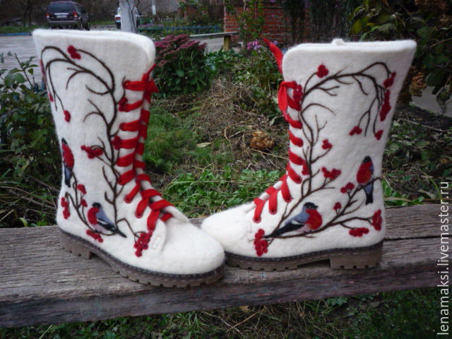Валенки-ботинки