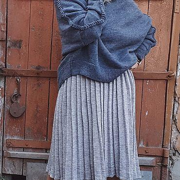 Одежда ручной работы. Ярмарка Мастеров - ручная работа Юбка плиссе. Handmade.