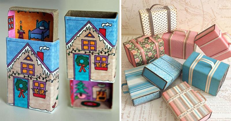 Поделки из спичечных коробков для детей 8 лет 73