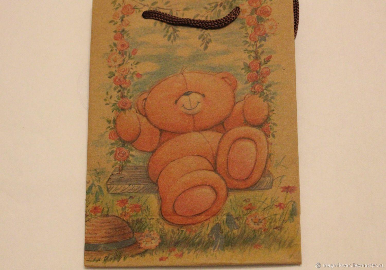 Подарочная упаковка для мыла Подарочный пакет с ручками, Упаковка, Долгопрудный, Фото №1