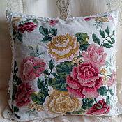 Для дома и интерьера handmade. Livemaster - original item Pillow case for a decorative pillow