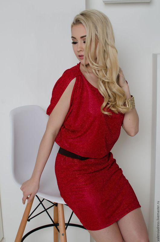 вечернее короткое платье, платье красное вечернее, платье мини