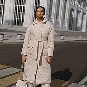 Одежда handmade. Livemaster - original item Everest insulated backpack coat. Handmade.
