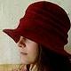"""Шляпы ручной работы. шляпа """"Испания"""". Инна Барденкова (innabardenkova). Ярмарка Мастеров. Валяние, войлок"""