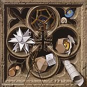 """Картины и панно ручной работы. Ярмарка Мастеров - ручная работа Картина """"Геометрия"""". Handmade."""
