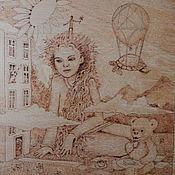 """Картины и панно ручной работы. Ярмарка Мастеров - ручная работа Картина """"Детство"""". Handmade."""