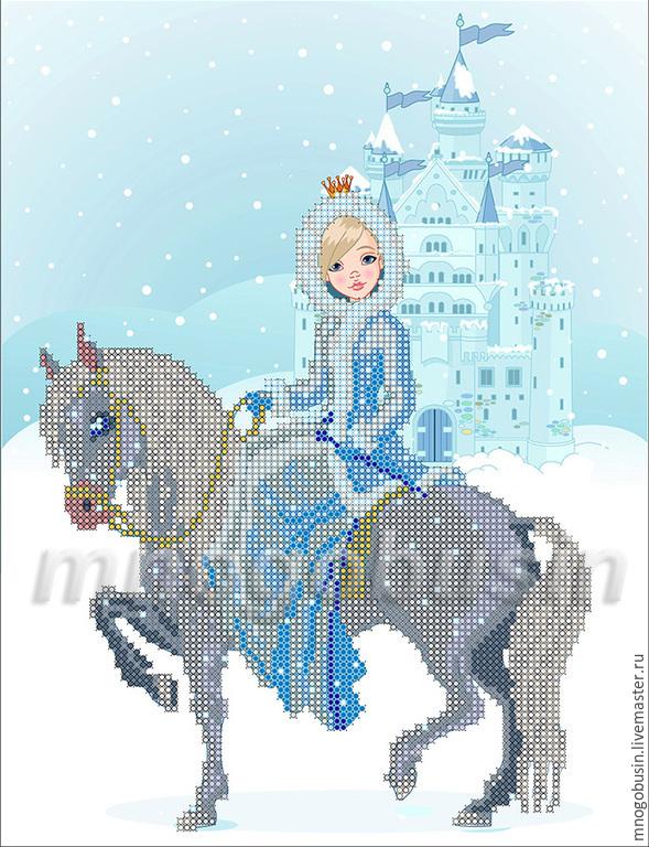 """Купить """"Зимняя прогулка"""" Схема"""