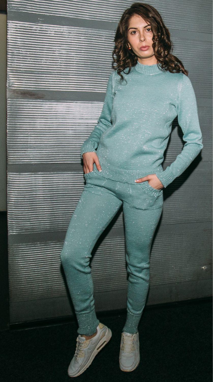 Спортивный костюм с люрексом – купить в интернет-магазине на Ярмарке ... 36e1fd35f2c
