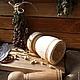 Кухня ручной работы. Заказать Деревянная ступка с пестиком.. Golden LES-магия деревянной резьбы (goldenles). Ярмарка Мастеров.