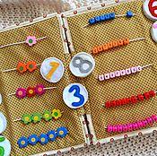 Куклы и игрушки handmade. Livemaster - original item Developmental book. Handmade.