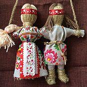 Подарки ручной работы. Ярмарка Мастеров - ручная работа Кукла оберег Неразлучники. Handmade.