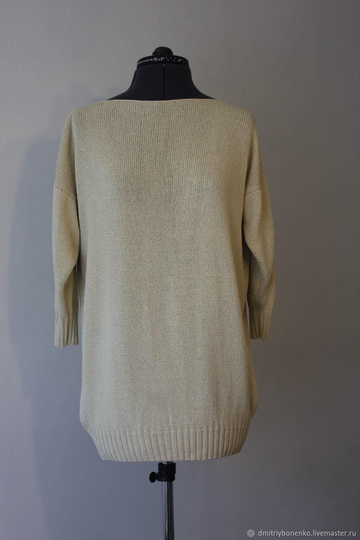 Jersey de seda ' Daffodils', Pullover Sweaters, Kaluga,  Фото №1