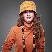 """Аксессуары ручной работы. Ярмарка Мастеров - ручная работа """"Серпантин"""" шляпка. Handmade."""