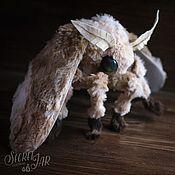Куклы и игрушки handmade. Livemaster - original item Textile moth